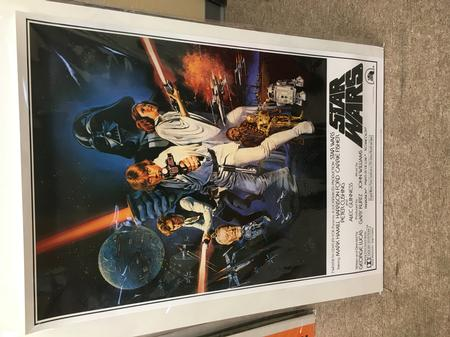 Classifieds: Star Wars 1977 Reproduction Movie Poster Star Wars.JPG